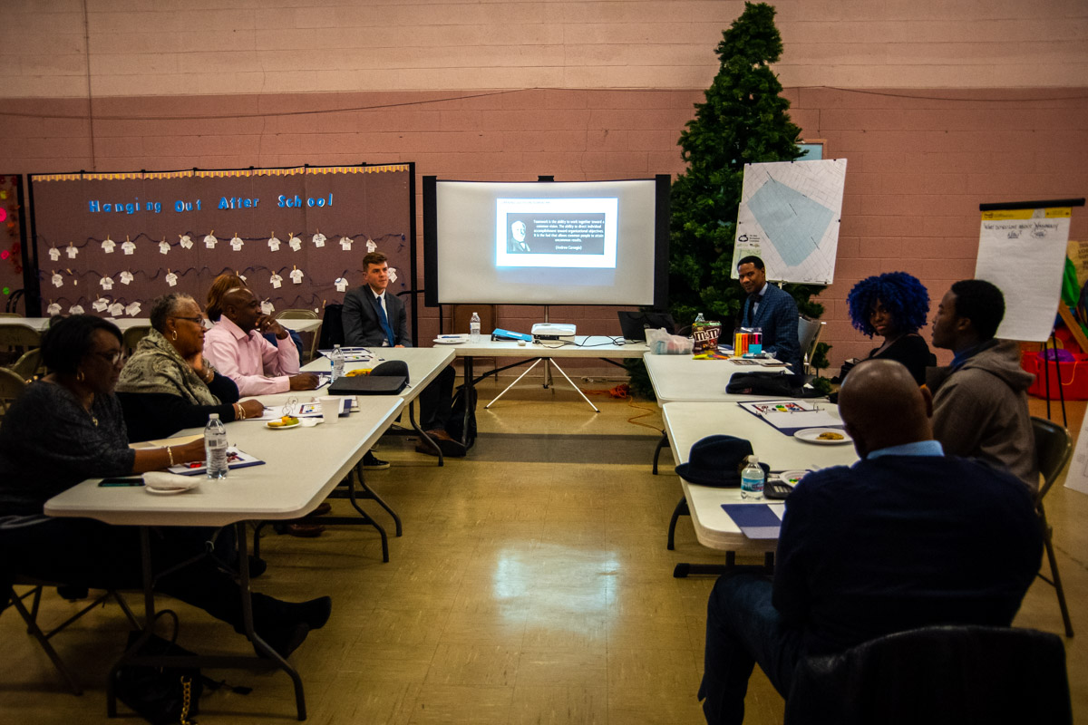 Rise Meets with Steering Committee