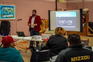 John Cruz talks housing cost burden